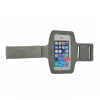 Qoltec Sports Armband for smartphone max.5.5' gray