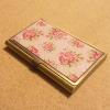 Rózsás névjegykártyatartó