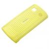 Nokia CC-3026 gyári műanyag hátlaptok sárga (500)**