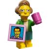 LEGO Edna Krabappek Simpsons minifigura