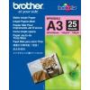 Brother BP60MA3 Matt fotópapír, A3, 25 db