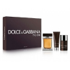 Dolce & Gabbana The One szett IV. (100ml eau de toilette + 50ml tusfürdő + 75ml stift dezodor), edt férfi