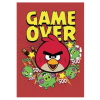 Füzet Angry Birds Game Over A4 KOCKÁS