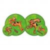 Scooby Doo sötétzöld labda, 23 cm