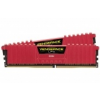 Corsair Vengeance LPX Series Piros DDR4-2400, CL14 - 16 GB Kit CMK16GX4M2A2400C14R