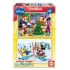 Educa Disney Mickey egér Club puzzle, 2x48 darabos