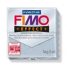 Gyurma, 56 g, égethető, FIMO Effect, csillámos ezüst