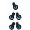 DXRacer SP / 0705 / NB Blade kerék 5 darab - kék