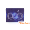 Modecom Logic LCP-09 univerzális notebook hűtőpad Purple