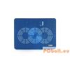 Modecom Logic LCP-09 univerzális notebook hűtőpad Blue laptop kellék