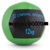 Capital Sports Wallba 12, zöld, 12 kg, wall ball, műbőr