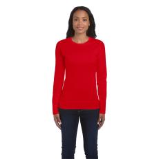 GILDAN női h.ujjú Softstyle póló, piros (Gildan női h.ujjú Softstyle póló, piros)