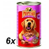 Propesko Kutyakonzerv, csirke- , marha- és szarvashús, 6×1240g