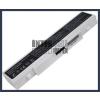 Samsung AA-PB9NS6B 4400 mAh 6 cella fehér notebook/laptop akku/akkumulátor utángyártott