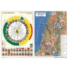 Stiefel Eurocart Kft. Stiefel Katolikus egyházi év és Újszövetség térképe / Ószövetség A3 könyöklő duo