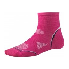 Smartwool PhD Cycle Ultra Light Mini Női zokni, Rózsaszín, S