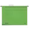 Leitz Függőmappa, karton, A4, LEITZ, Alpha Standard, zöld 25db/csom