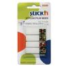 Stick'n Index oldaljelölő (21383) 12x45mm mintás széllel PÖTTY 4x20 lap