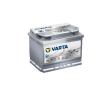 Varta Silver Dynamic AGM 12v 60ah autó akkumulátor jobb+ Varta