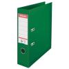 ESSELTE Iratrendező, 75 mm, A4, PP/PP, élvédő sínnel, ESSELTE Standard, zöld