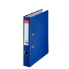 Iratrendező, 50 mm, A4, PP/karton, élvédő sínnel, ESSELTE Economy, kék