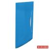 GUMIS mappa, 15 mm, PP, A4, ESSELTE Vivida, kék
