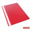 Gyorsfűző, PP, A4, ESSELTE Standard, piros 25db/csomag lefűző