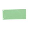 Elválasztócsík, karton, ESSELTE, zöld 100db/csomag