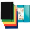 GUMIS mappa, 15 mm, karton, A4, ESSELTE Economy, fekete 10db/csomag