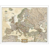 NATIONAL GEOGRAPHIC Antik színű Európa falitérkép National Geographic 117x92