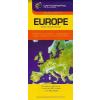 Cartographia Európa autótérkép Cartographia