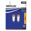 Neolux NT10YL 0,5W 12V AMBER W2.1x9.5d W5W LED JELZŐIZZÓ BL2