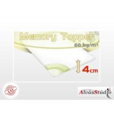 Alvásstúdió memory fedőmatrac 160x200x4 cm Aloe Vera huzattal ágy és ágykellék