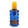 Nivea Sun Protect & Bronze száraz olaj napozáshoz SPF 20 + minden rendeléshez ajándék.