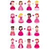 Maildor Cooky 3D matricák - Hercegnők 2
