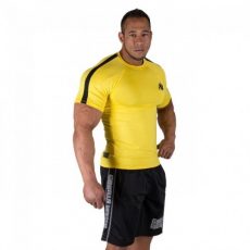 Gorilla Wear Stretch Tee Yellow