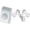 SASO PA-4109W fehér mini passzív infra érzékelő
