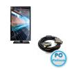 """Samsung 21,5"""" S22E450B LED 21,5"""",1920x1080,MegaDCR/1000:1,250cd/m2,5ms,1xDVI,Black,Pivot,LED,D-Sub, DVI kábellel,21,5"""",Full HD,16:9"""