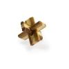Eureka : 3D Bambusz puzzle - Doublecross ** - Ördöglakat
