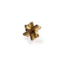 Eureka : 3D Bambusz puzzle - Doublecross ** - Ördöglakat puzzle, kirakós