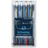 """SCHNEIDER Rollertoll készlet, 0,5 mm, SCHNEIDER """"One Hybrid N"""", 4 szín"""