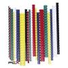 FELLOWES Spirál, mûanyag, 45 mm, 341-410 lap, FELLOWES, 50 db, fekete