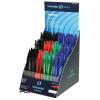 "SCHNEIDER Golyóstoll display, 0,5 mm, nyomógombos, SCHNEIDER, ""Suprimo"" vegyes színek"