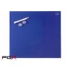 """NOBO Mágneses üveg tábla, 30x30 cm, NOBO """"Diamond"""", kék"""