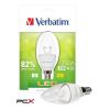 Verbatim LED izzó, E14, Classic B - gyertya, 250lm, 4,5W, 2700K, meleg fény, bliszterben, VERBATIM