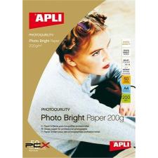 "APLI Fotópapír, tintasugaras, A3, 200 g, fényes, APLI ""Photo Bright"" fotópapír"