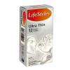 LifeStyles ultra thin vékony falvastagságú óvszer 12db