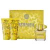 Versace Yellow Diamond női parfüm Set (Ajándék szett) (eau de toilette) edt 50ml + Bl 50ml + Sg 50ml