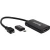 SANDBERG MHL 3.0 - 4K HDMI Converter  4K directly from mobile or tablet