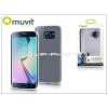 Samsung Samsung SM-G925 Galaxy S6 Edge hátlap - Muvit ThinGel - transparent